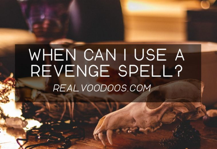 When can I use a revenge spell